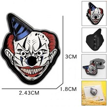 Joker brooch pin