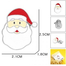 Santa Claus brooch pin