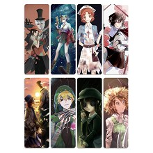 Identity V anime bookmarks set(5pcs a set)