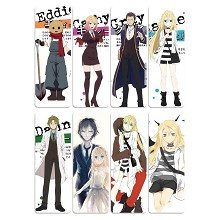 Angels of Death anime bookmarks set(5pcs a set)