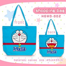 Doraemon anime canvas shipping bag