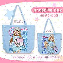 Cells At Work anime canvas shipping bag