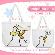The other anime canvas shipping bag