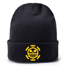 One Piece Law anime kniting hat
