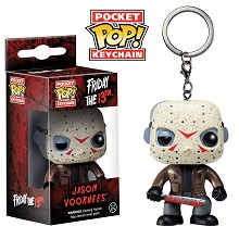 Funko POP Jason Voorhees figure doll key chain
