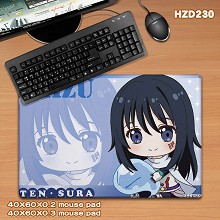 The cartoon anime big mouse pad