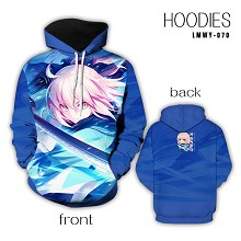 Fate grand order anime hoodie cloth
