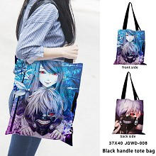 Tokyo ghoul anime black handle tote bag shipping b...