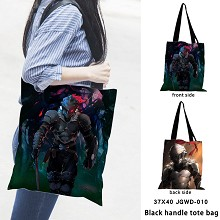 Goblin Slayer anime black handle tote bag shipping...