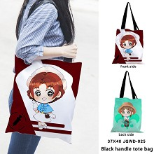Identity V black handle tote bag shipping bag