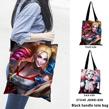 Suicide Squad black handle tote bag shipping bag