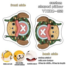 One Piece Chopper anime custom shaped pillow
