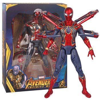 14inches Avengers Infinity War Iron Spider Man figure