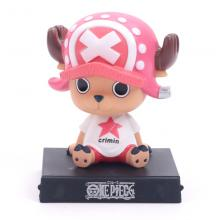 One Piece Chopper shake head anime figure