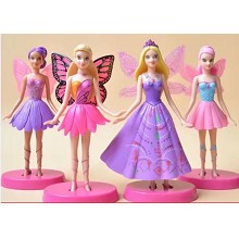 Disney Princess anime figures set(4pcs a set)
