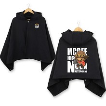 Overwatch Jesse Mccree dress smock cloak manteau m...