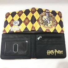 Harry Potter Hufflepuff wallet