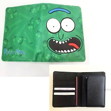Rick and Morty passport wallet