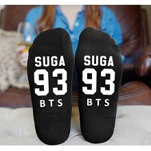BTS cotton socks a pair