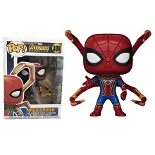 FUNKO POP 300 Iron spider man figure