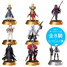 Fate grand order anime figures set(8pcs a set)