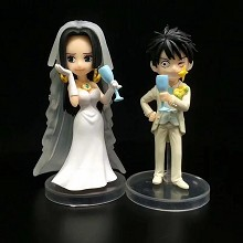 One Piece Hancock and Luffy marry anime figures a ...