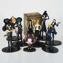 One Piece anime figures set(9pcs a set)