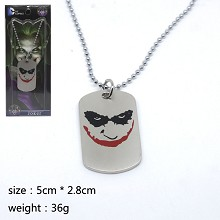 Batman joker necklace