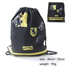Harry Potter Hufflepuff drawstring bag