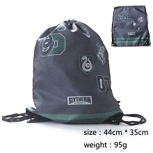 Harry Potter Slytherin drawstring bag