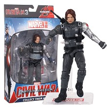 7inches The Avengers Civil war Winter Soldier figu...