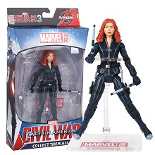 7inches The Avengers Civil War Black Widow figure