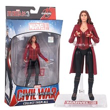 7inches The Avengers Civil War Scarlet Witch figur...
