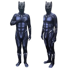 Black Panther cosplay tight suit cloth(no include ...