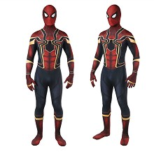 Iron Spider man cosplay tight suit cloth