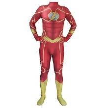 The Flash cosplay tight suit cloth