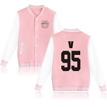BTS V 95 cotton thick hoodie coat jacket cloth