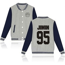 BTS JIMIN 95 cotton thick hoodie coat jacket cloth