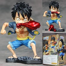 One Piece Luffy anime figure