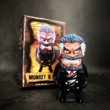 One Piece Monkey D Garp anime figure