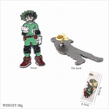 My Hero Academia Midoriya Izuku anime brooch pin