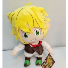 12inches The Seven Deadly Sins Meliodas anime plush doll