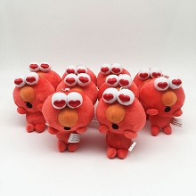 4inches Sesame street anime plush dolls set(10pcs ...