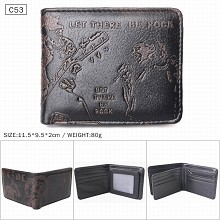ACDC band wallet
