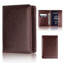 Passport Cover Card Case Credit Card Holder Wallet