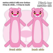 Pink Panther anime long plush doll