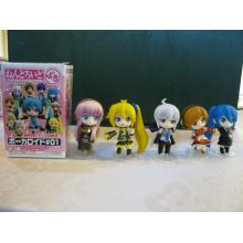 Hatsune Miku anime figures set(5pcs a set)