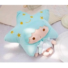 Little twin star anime quilt blanket sheets 90X80C...