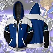 Kingdom Hearts anime 3D printing hoodie sweater cl...