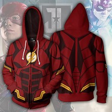 The Flash 3D printing hoodie sweater cloth